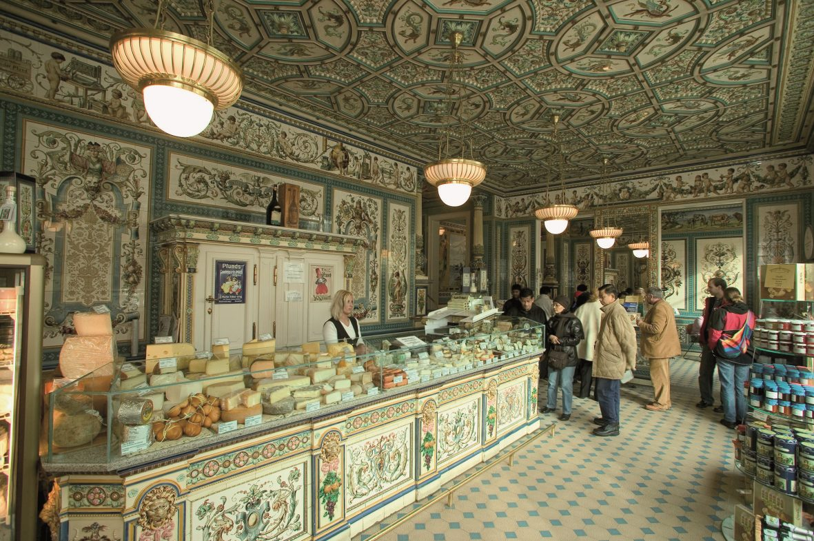 The Most Beautiful Dairy Shop In The World  Pics